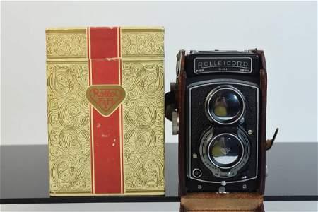 LIKE NEW Rolleicord IV Camera in Box w/ Receipt