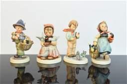 4 Vintage Hummel Figurines