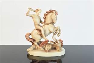 St George Hummel Figurine 55