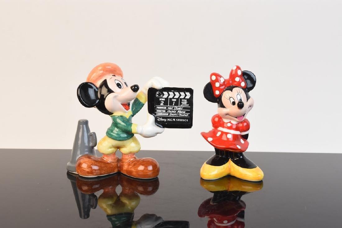 (5) Ceramic Walt Disney Figurines - 5