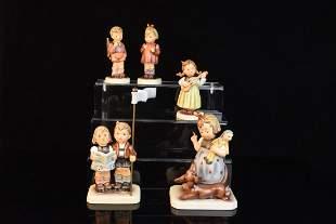 5 Exclusive Edition Hummel Figurines TMK7