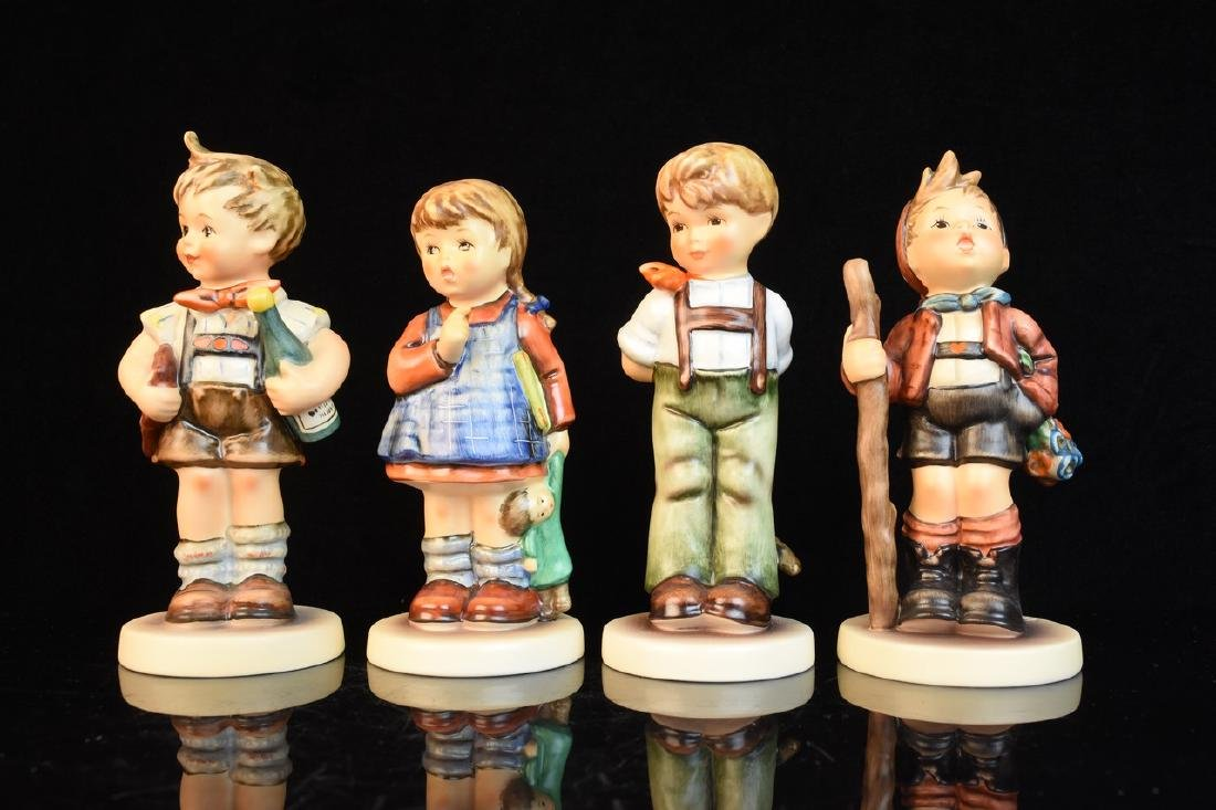 (4) Exclusive Edition Hummel Figurines