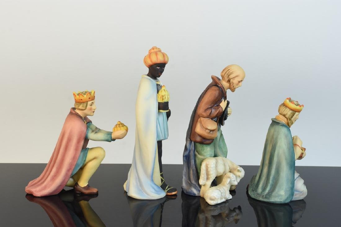 Hummel Nativity Scene; Wise Men & Shepherds - 2