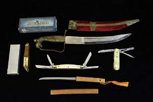BNH Dagger and Assorted Knives