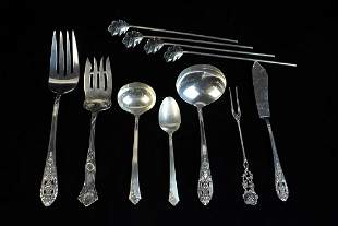 Assorted Sterling Silver Flatware 1035 ozt