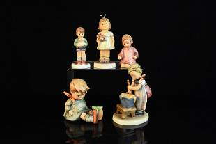 5 Hummel Figurines TMK6 TMK7