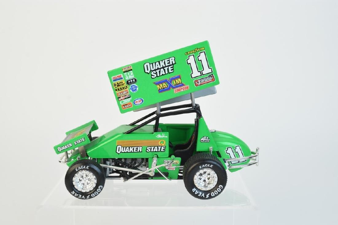 (2) Action Quaker State Die Cast Sprint Car - 3