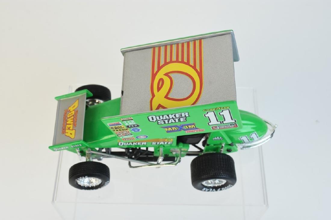 (2) Action Quaker State Die Cast Sprint Car - 4