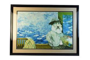 Signed Numbered Lithograph By Charles Bragg