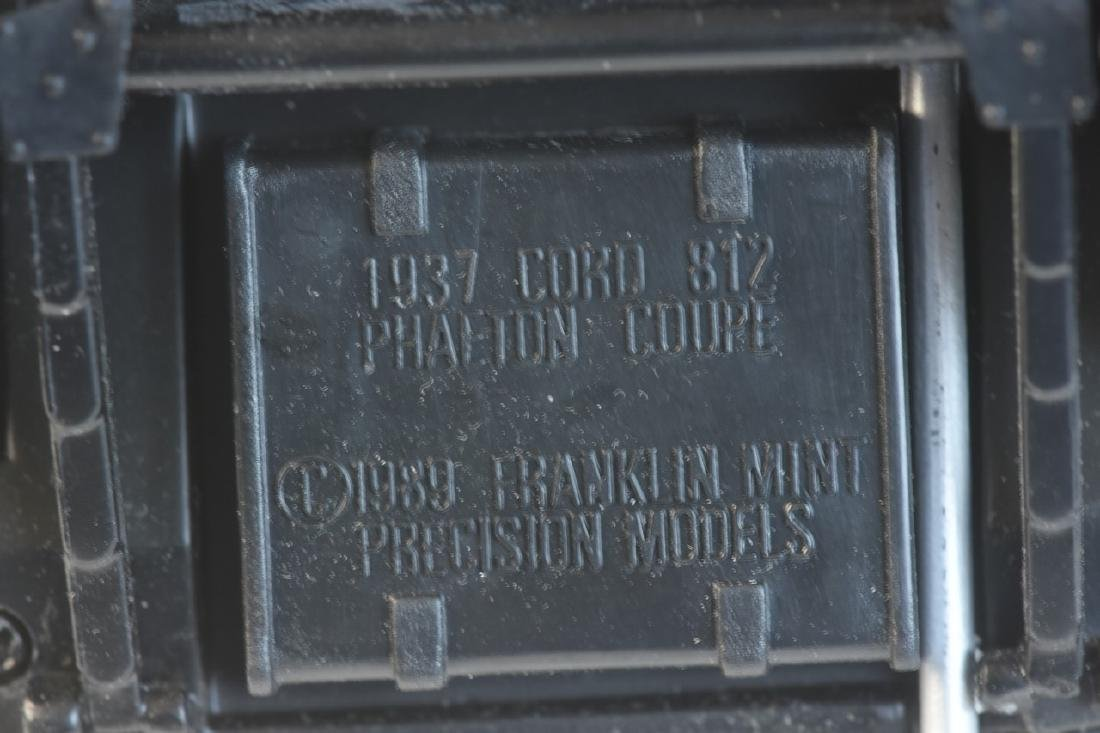(3) Franklin Mint Precision Model 1:24 Die Cast - 10