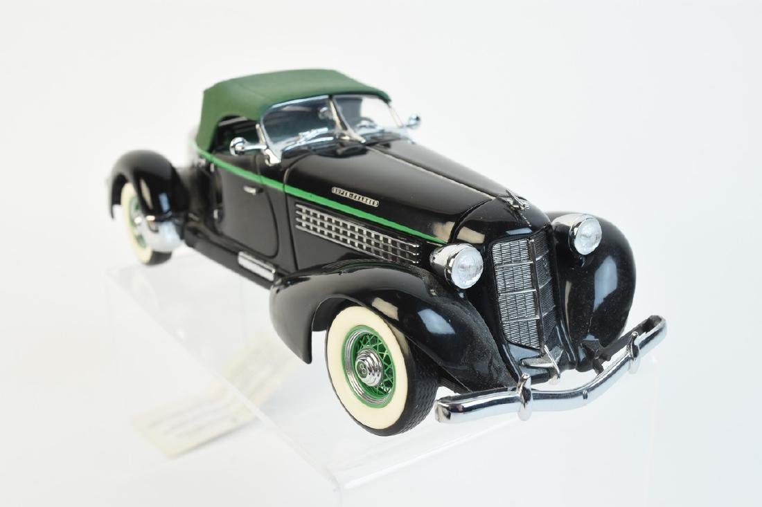 (3) Franklin Mint Precision Model 1:24 Die Cast - 2
