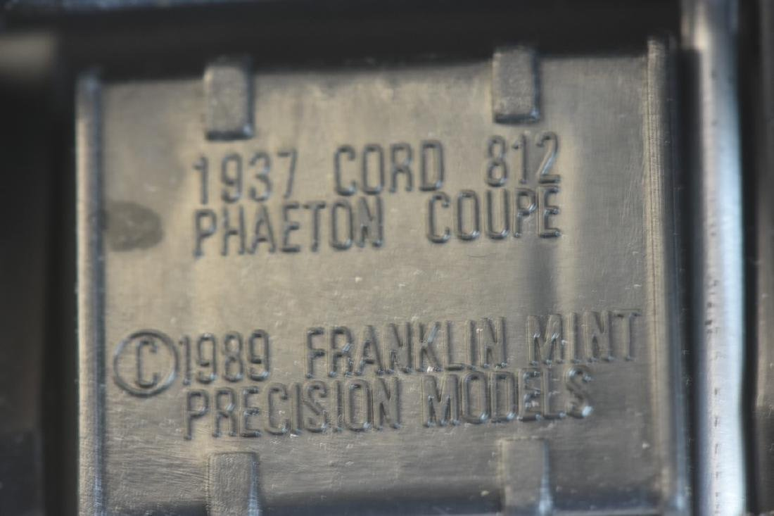 (3) Franklin Mint Precision Model 1:24 Die Cast - 9