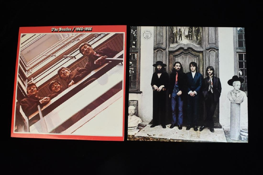 (6) Vintage Capitol Beatles Albums on Vinyl - 4