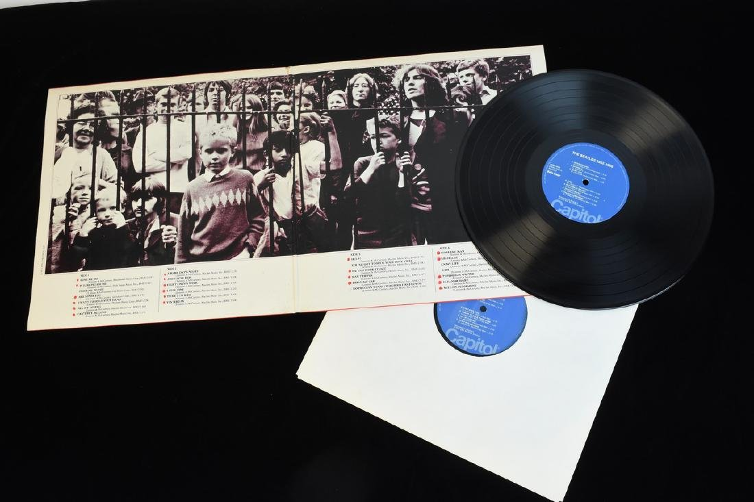(6) Vintage Capitol Beatles Albums on Vinyl - 5
