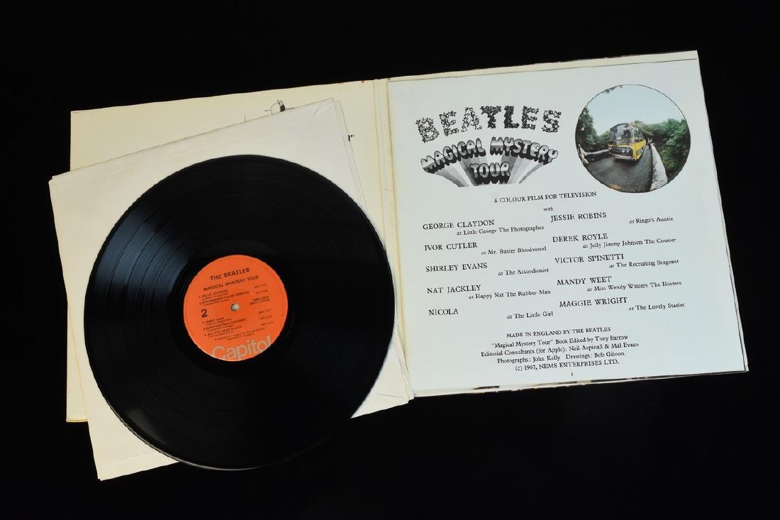 (6) Vintage Capitol Beatles Albums on Vinyl - 7
