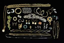 Vintage and Designer Costume Jewelry
