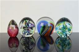 Glass Eye Studio & HG Art Glass Paperweight