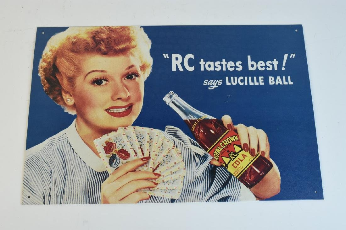 Lucille Ball Tin & Paper Advertisements - 7