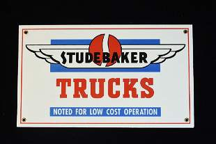 Studebaker Porcelain Advertising Signs