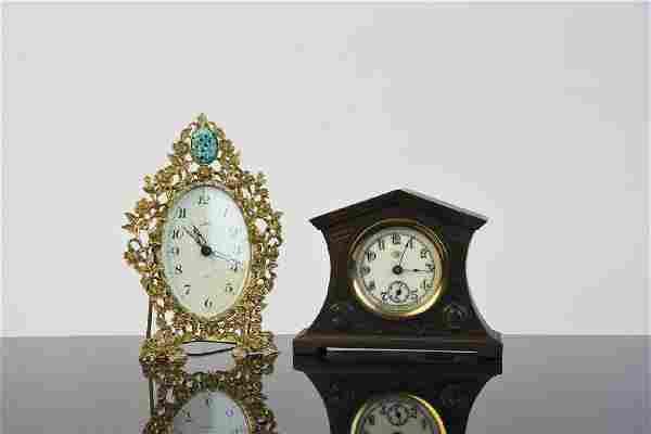 Waterbury & Goldbuhl Novelty Desk Clocks
