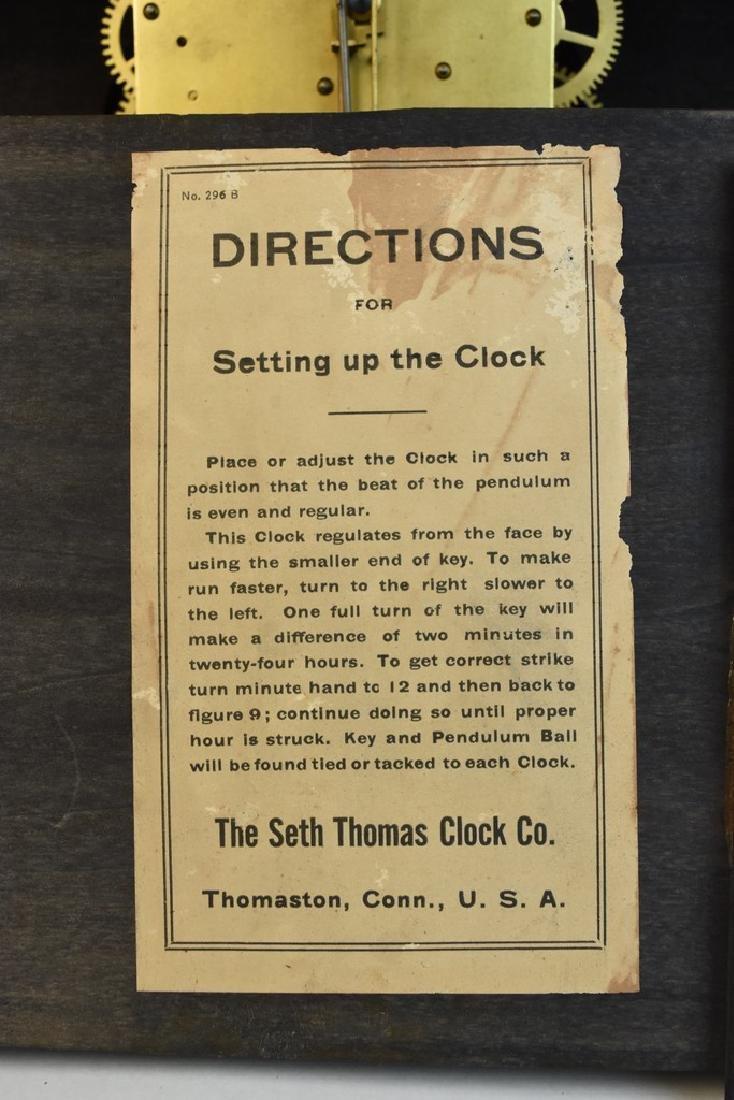 Seth Thomas Chiming Mantel Clock - 11