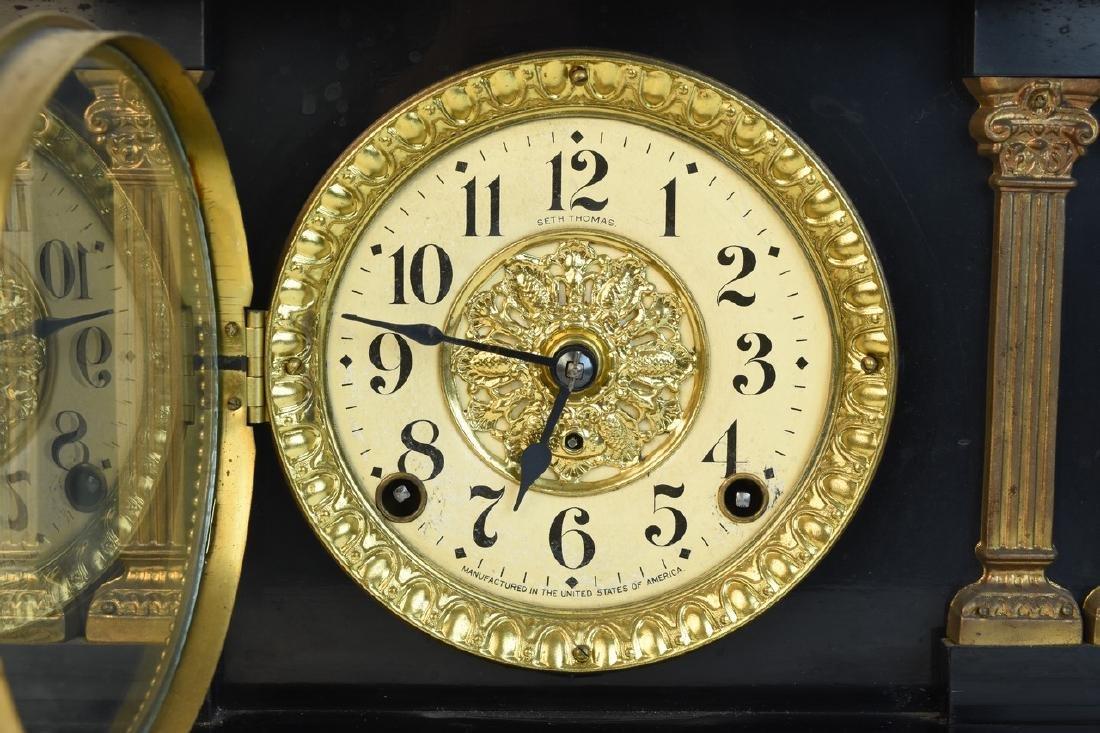 Seth Thomas Chiming Mantel Clock - 2