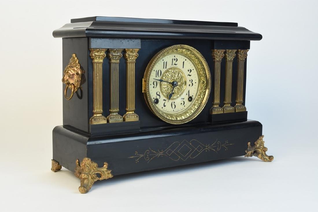 Seth Thomas Chiming Mantel Clock - 5