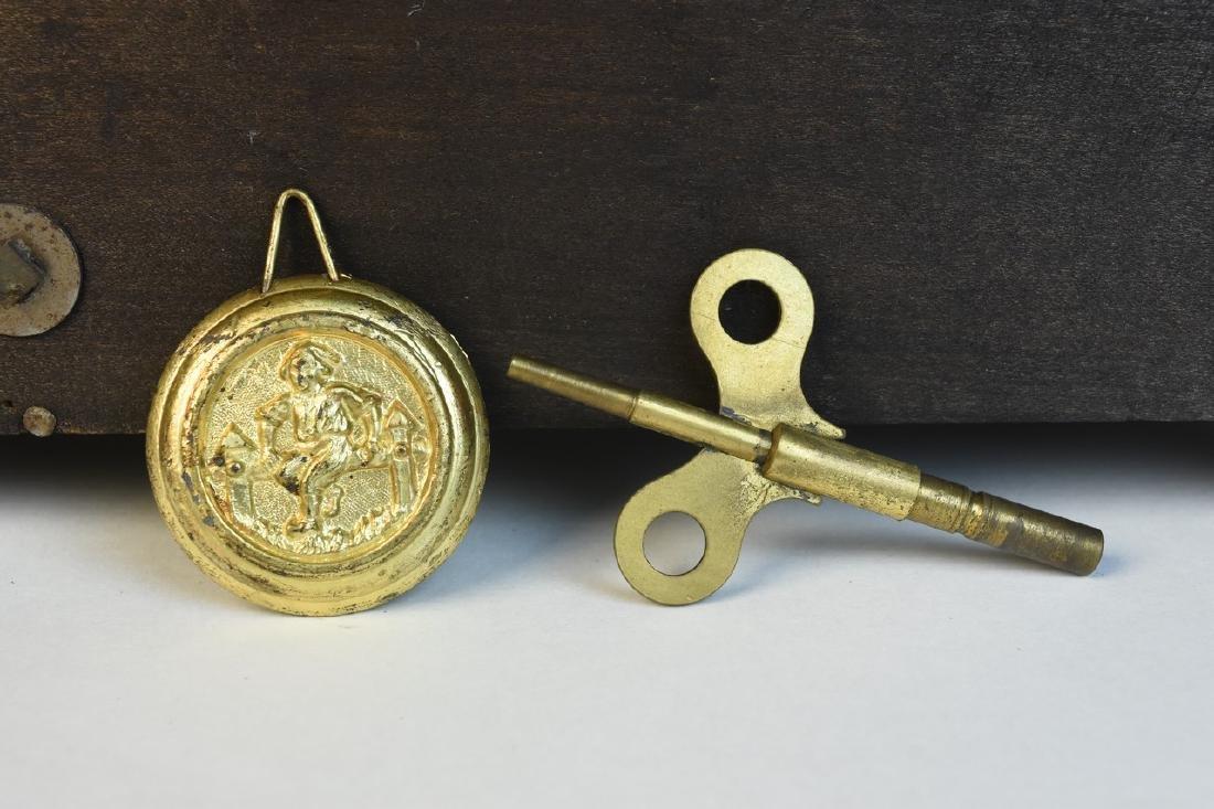 Seth Thomas Chiming Mantel Clock - 9