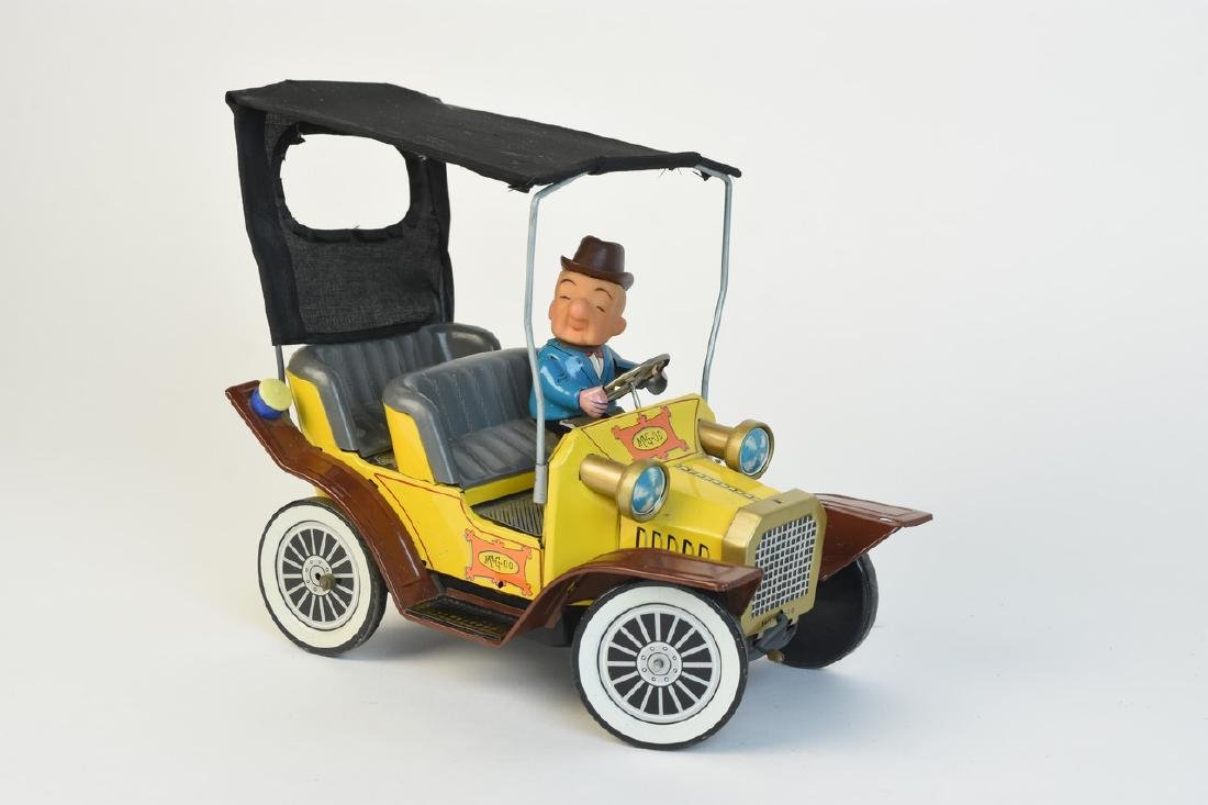 1960's Hubley Tin Litho Mr. Magoo Car
