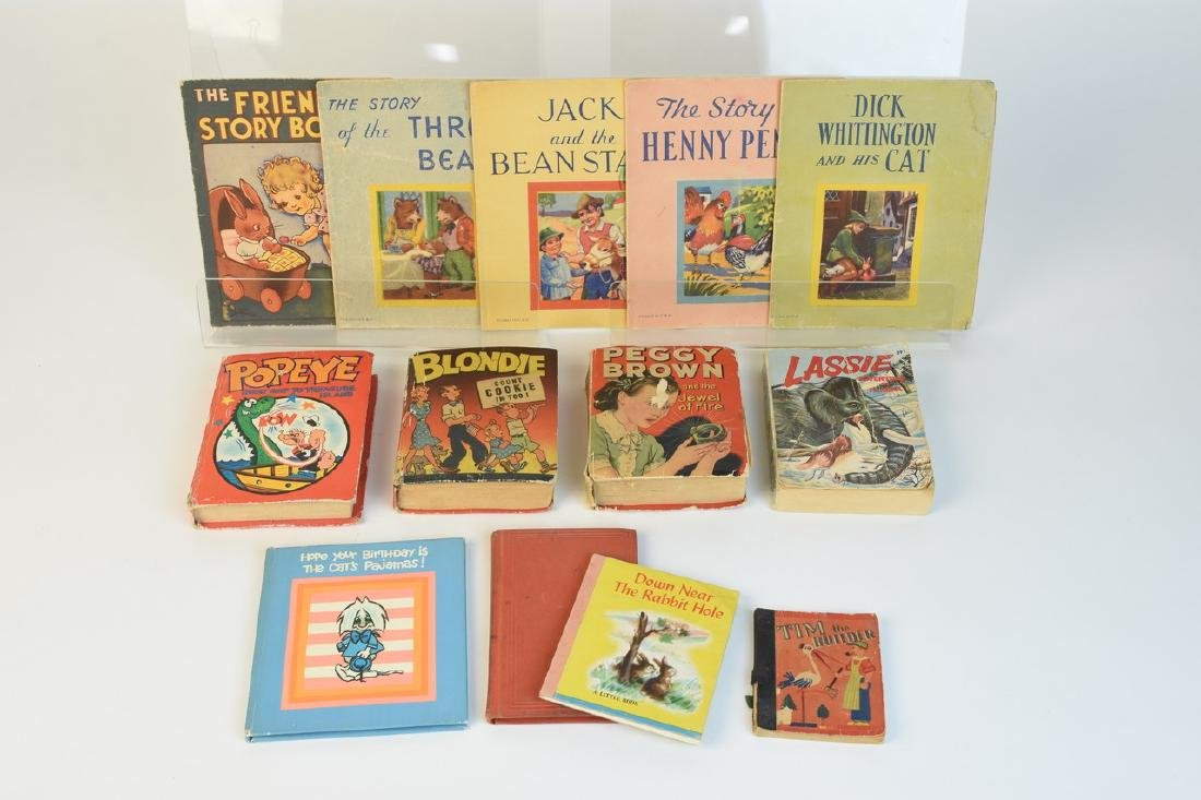 Big Little Books & Other Children's Vint. Books