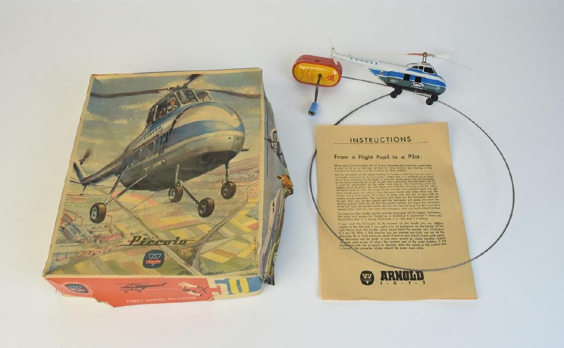 Arnold Piccolo Tin Litho Helicopter; OB