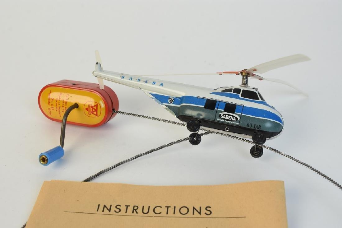 Arnold Piccolo Tin Litho Helicopter; OB - 2