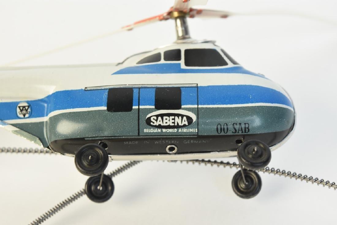 Arnold Piccolo Tin Litho Helicopter; OB - 4