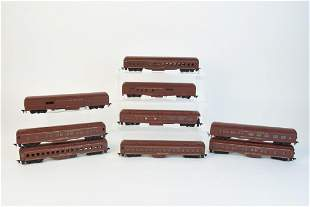 Athearn Norfolk Western HO Scale Passenger Cars