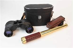 Celestron 25x30 Brass Telescoping Spyglass