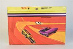 Hot Wheels Collectors Case and Redline Cars