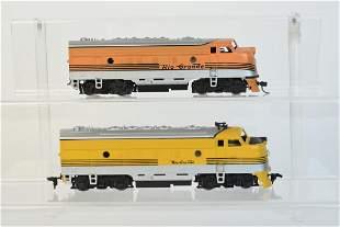 2 HO Scale Rio Grande Locomotives