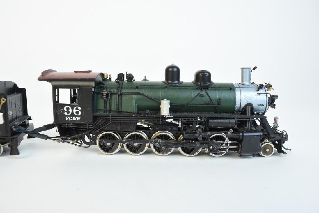 Kadee Flint Creek & Western Locomotive #96 w/ Tender - 2
