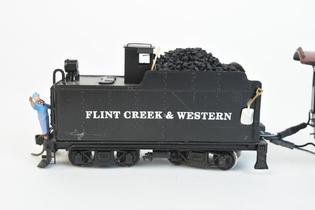 Kadee Flint Creek & Western Locomotive #96 w/ Tender - 3