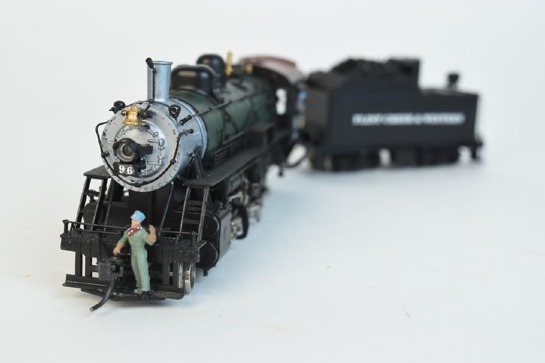 Kadee Flint Creek & Western Locomotive #96 w/ Tender - 4