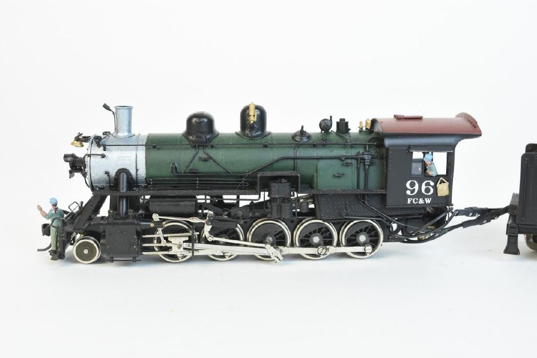 Kadee Flint Creek & Western Locomotive #96 w/ Tender - 5