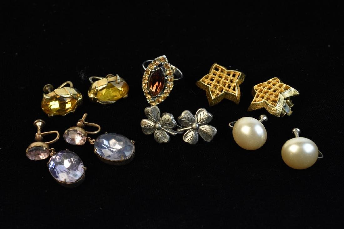 Costume Jewelry; Trifari, Lisner, Monet + - 5