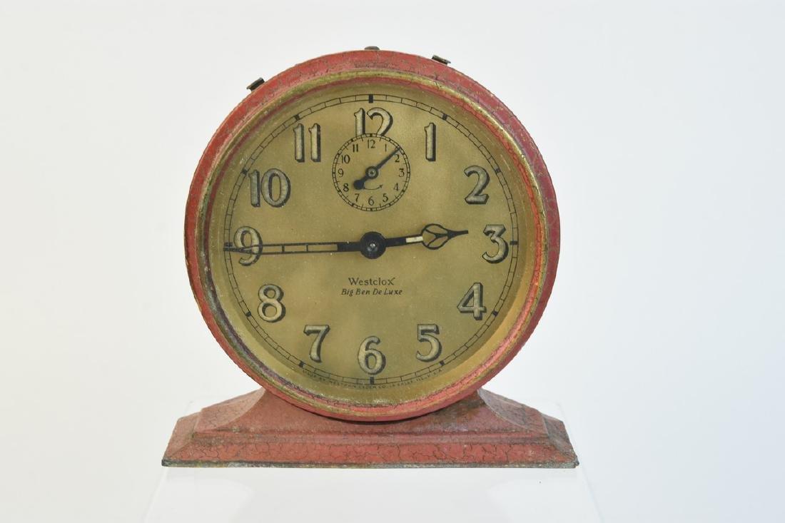 (5) Vintage Desk Top Alarm Clocks - 4