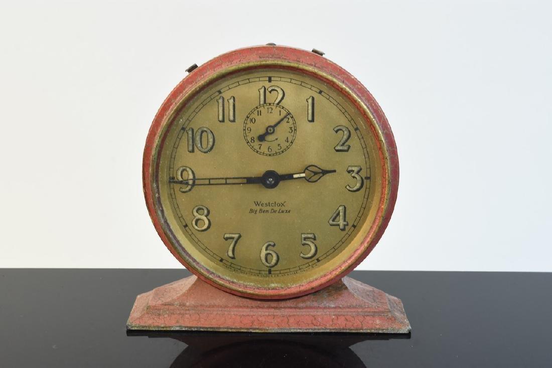 (5) Vintage Desk Top Alarm Clocks - 5