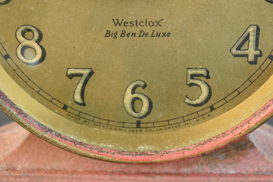 (5) Vintage Desk Top Alarm Clocks - 6