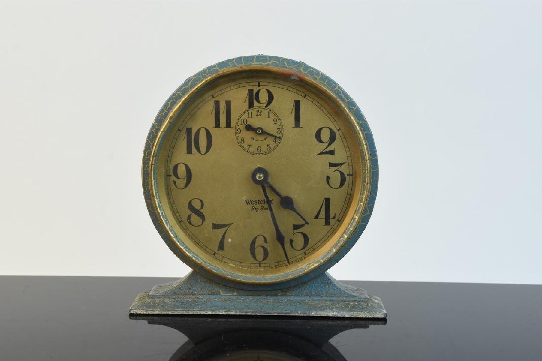 (5) Vintage Desk Top Alarm Clocks - 9