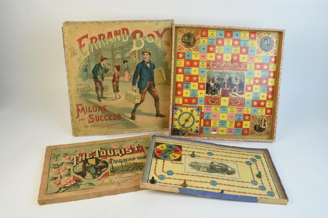 Early Antique Board Games