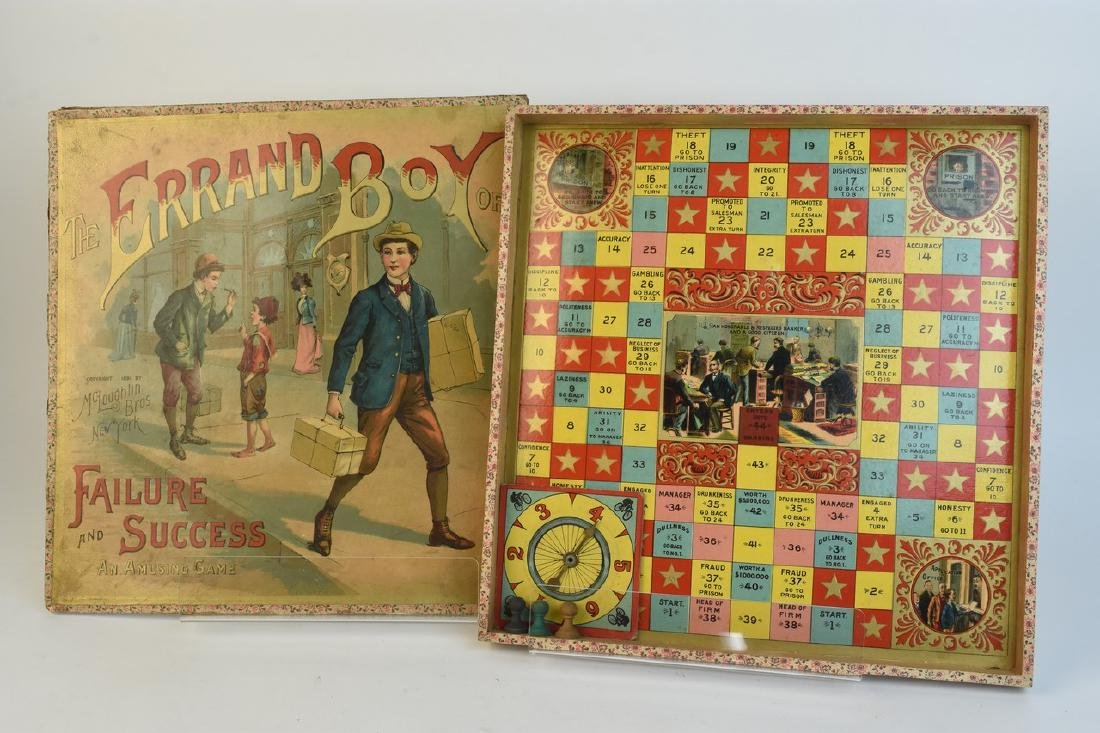 Early Antique Board Games - 2