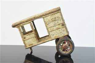 Cast Iron Bakery Delivery Wagon