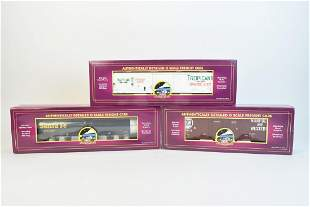 3 MTH O Scale Freight Cars OB